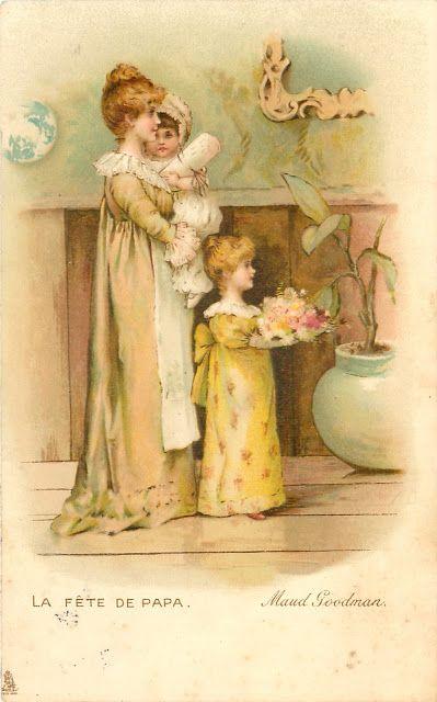 Soloillustratori: La cartoline di Maude Goodman