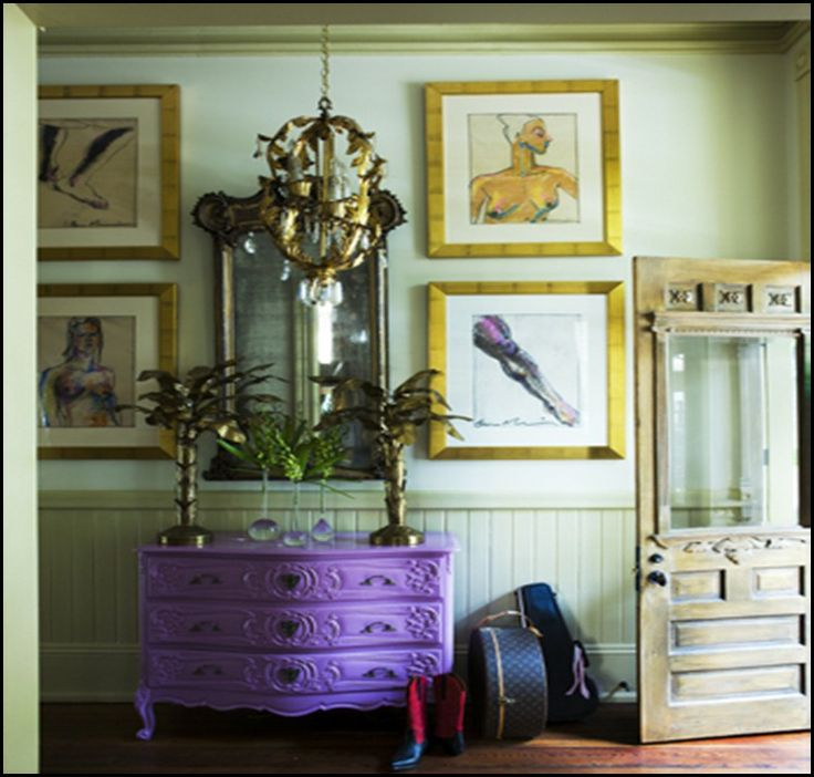 1000 Images About Brightly Painted Furniture On Pinterest