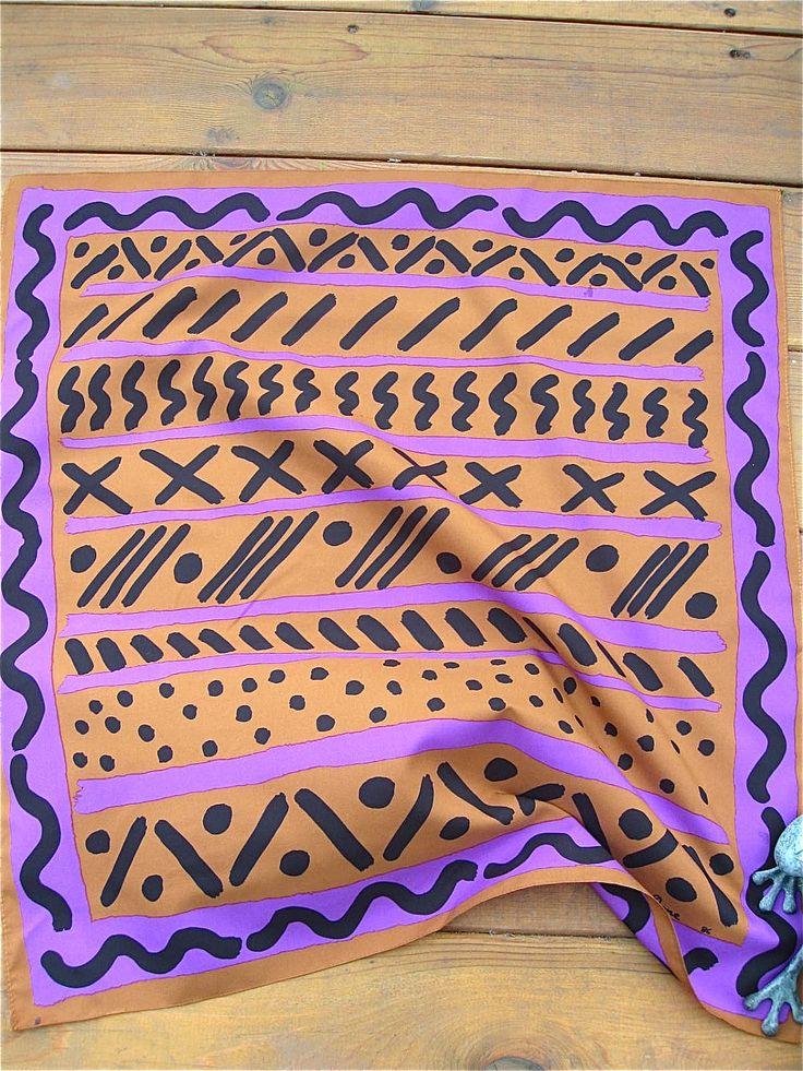 ken done scarf, 80's
