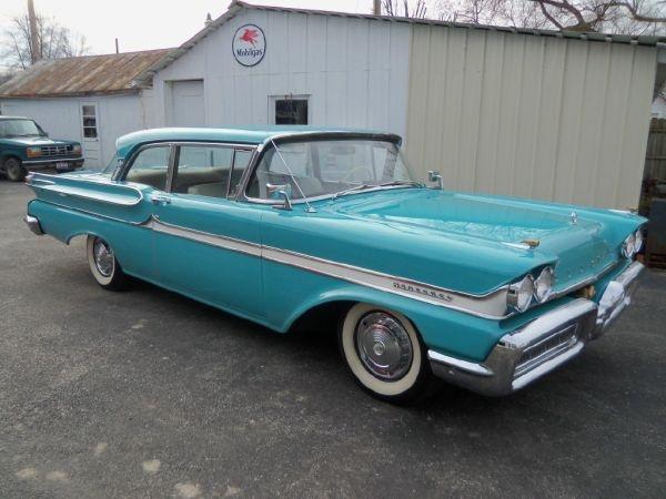 1958 mercury monterey sedan 2 door post very rare car craigslist addiction pinterest bilar. Black Bedroom Furniture Sets. Home Design Ideas
