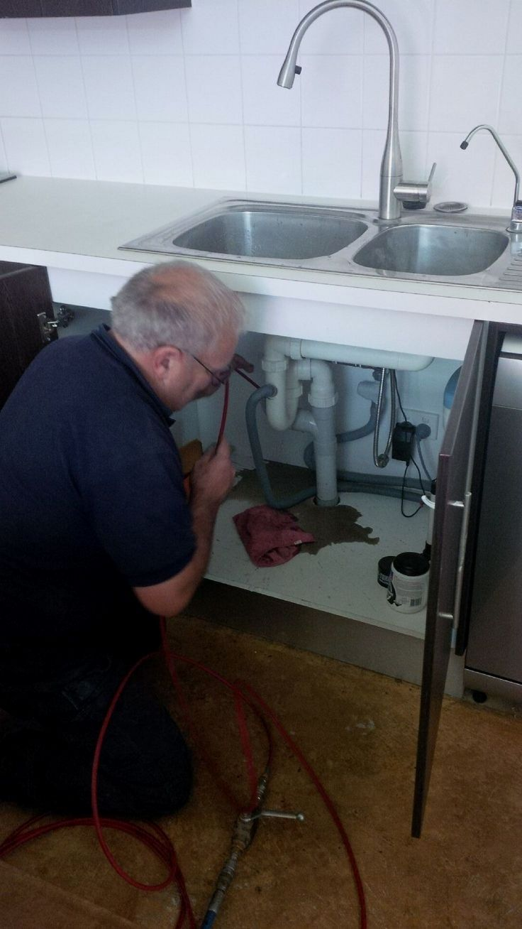 If Your Kitchen Sink Or The Main Drain Is Slow To Drain And Blocking Up Sometimes You May Want To Plumbing Plumbing Emergency Plumbing Repair