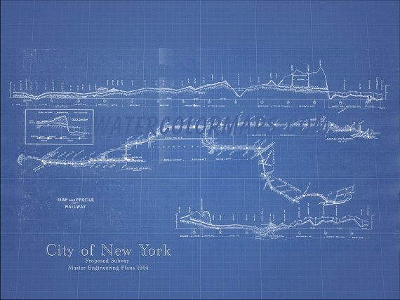 44 best blueprint maps images on pinterest long island rhode new york subway map new york map subway map blueprint map subway art subway malvernweather Choice Image