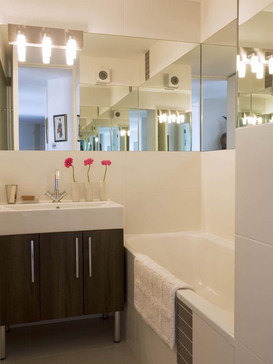 Modern Small Bathroom Design Lighting Ideas