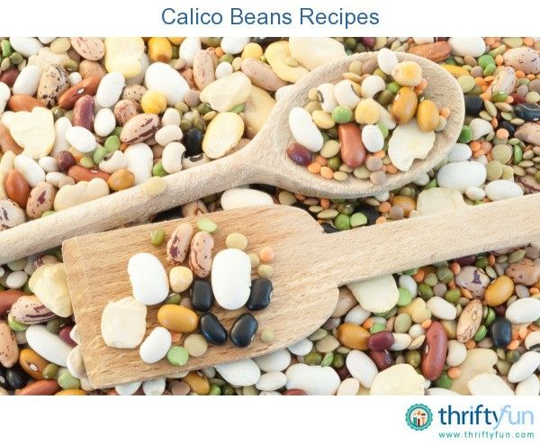This page contains calico beans recipes. Calico bean dishes are prepared using a combination of several varieties of beans, resulting in a tasty combination of flavors and colors.