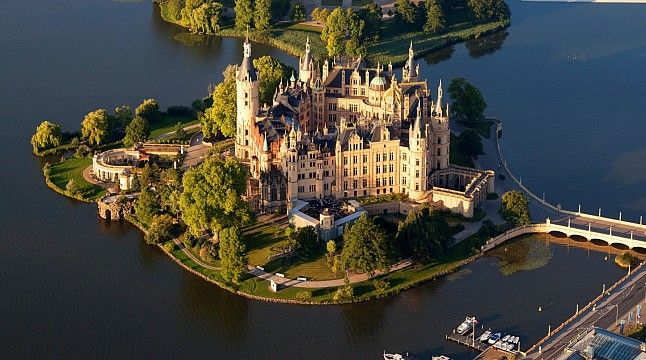 Schwerin Castle near Hamburg
