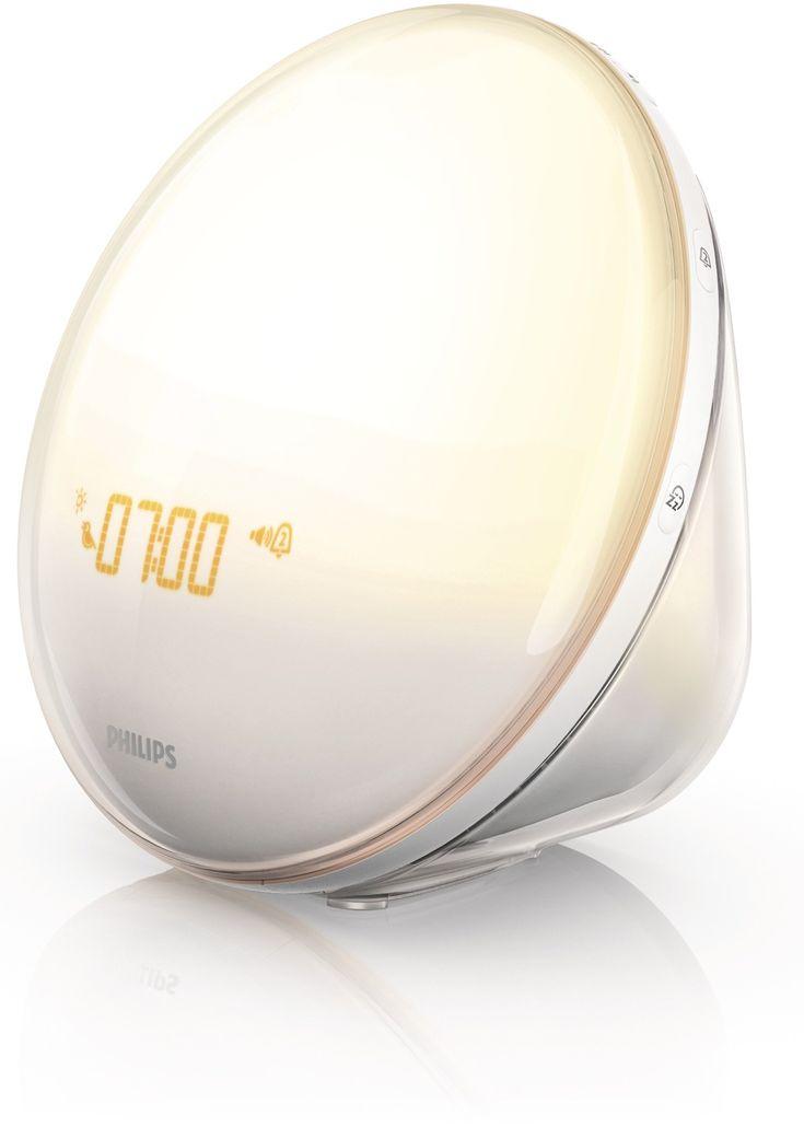Amazon.com: Philips HF3520 Wake-Up Light With Colored Sunrise Simulation, White: Health & Personal Care