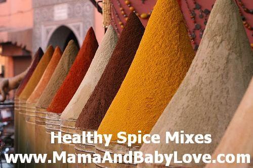 Healthy DIY Spice Mixes