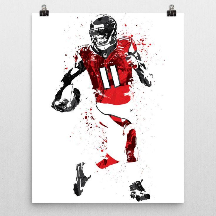 Julio Jones Atlanta Falcons Football Poster