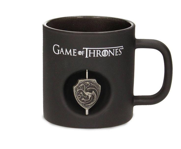 Game of Thrones / Le Trône de fer mug 3D Rotating Logo Targaryen Black Crystal