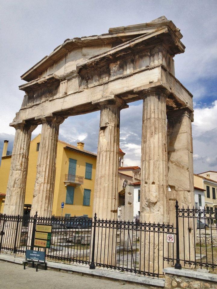 The Gate of Athena, Roman Agora, Plaka, Athens