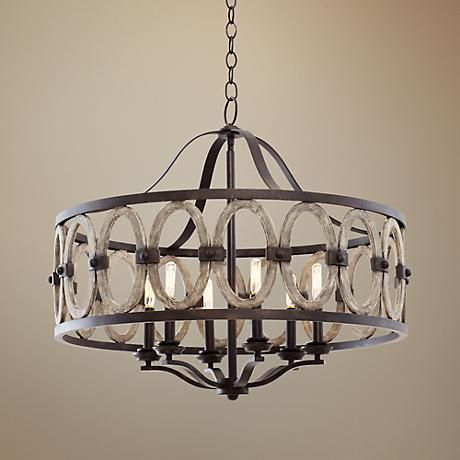 Belmont Florence Gold 28 1 2 Quot W Wrought Iron Chandelier