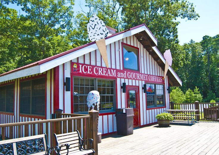 Ice Cream Parlor Frontier Town Campground Pinterest