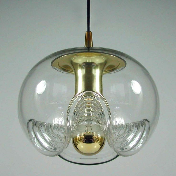 Space Age Celing Lamp by Koch & Lowy for Peill and Putzler, 1970s