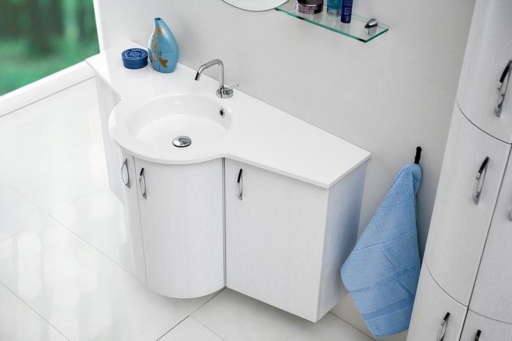 Gaia bathroom furniture / łazienka umywalka #bathroom #furniture #umywalka