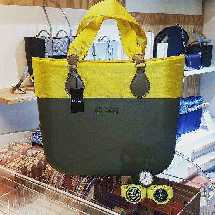 10 отметок «Нравится», 1 комментариев — Obag Store Terni (@obag_store_terni) в Instagram: «La nuova collezione summer è in store #obag #obagmania #verdescuro #bordo #seta #giallo…»
