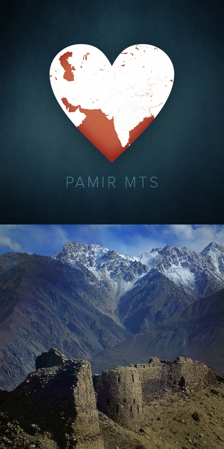 Pamir Mountains by Audrey Scott