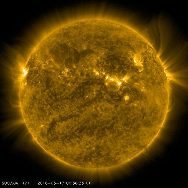 Солнечная активность 17 / Интересный космос