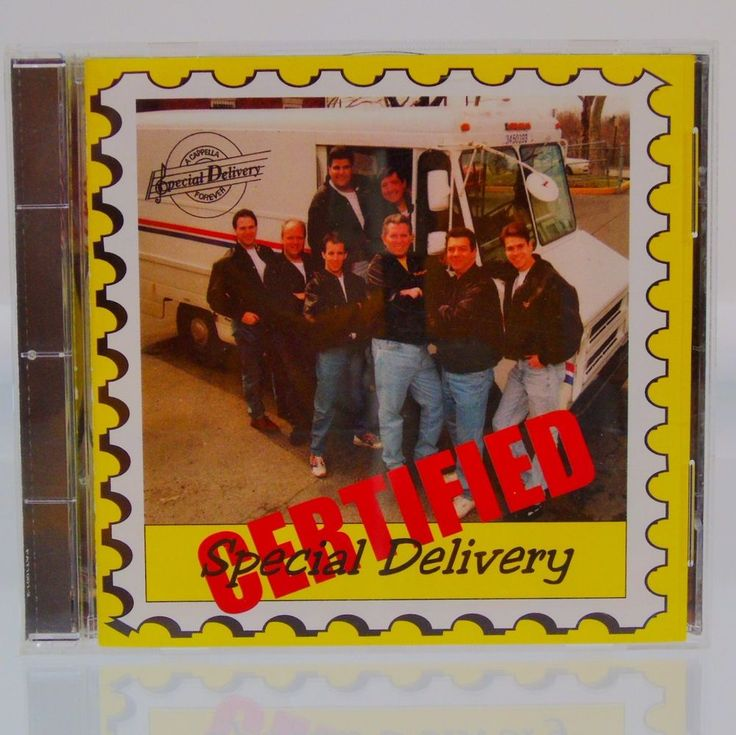 Special Delivery: Certified Special Delivery CD 1996 Fatoombah Records Doo-Wop  | Music, CDs | eBay!