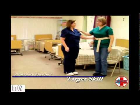 Ambulate a Patient With a Gait Belt CNA Skills