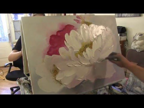 This Is A Huge Flower Painting So Neat Flower Painted