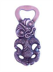 Maori Tiki Bottle Opener Fridge Magnet - tiki, maori, fridge, bottle, opener, magnet, ... - Shopenzed.com