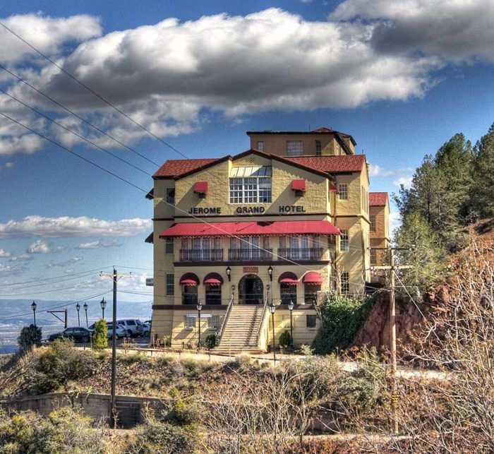 If you want to read some hair-raising experiences that have occurred here in Arizona, take a look at these hauntings that have occurred in Jerome.