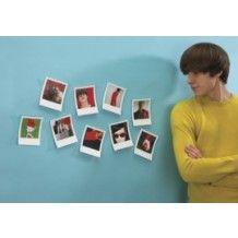Snap Frame polaroid fotolijstjes voor aan de muur. Set van 9.