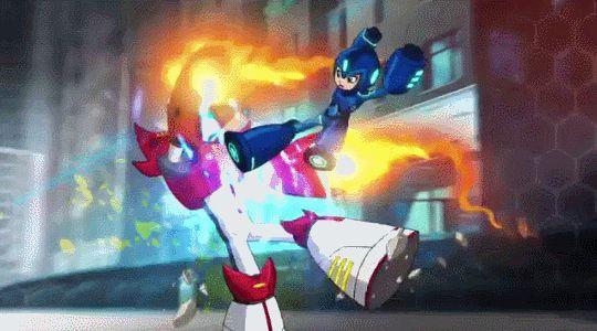Mega Spoiler: Ya hay un 1 vistazo de la nueva serie animada del juego Mega Man! Film Rolman publicó un par de segundos de la caricatura en un video de ejemplos de animación. Puedes ver el video original en este enlace. La serie se estrenará en el canal Disney XD en algún momento de 2017 [x]