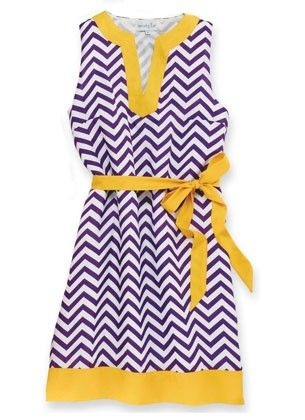 The perfect gameday gear!  Go Pirates! PURPLE and GOLD!