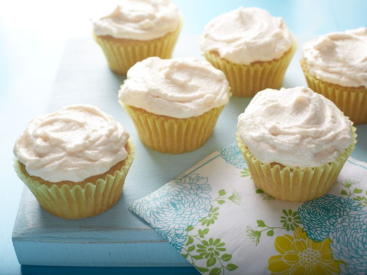 Vegan Vanilla Cupcakes recipe from Food Network Kitchen via Food Network
