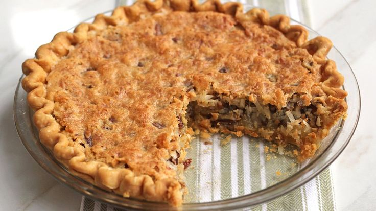 Creamy coconut, vanilla and pecans make this luscious Indiana State Fair pie a winner.