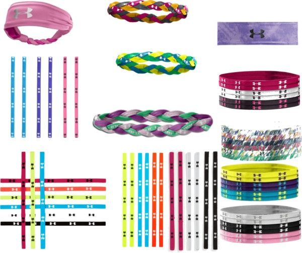 """Under Armour Headbands"" by alexi-schultz on Polyvore"