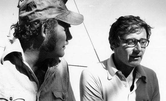 Robert Shaw & Peter Benchley