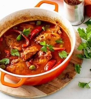 Smoked paprika chicken: Sundays are just asking for this slow-cooked dish, with melt-in-the-mouth chicken and deep, rich flavours. Slip on those comfy clothes and take it slow. by ursula