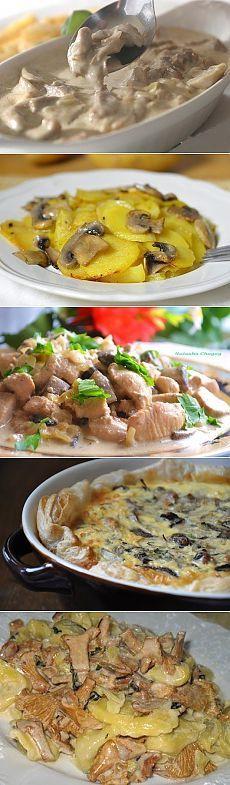 10 рецептов приготовления блюд из грибов  1. Грибочки, тушеные в сметане 2…