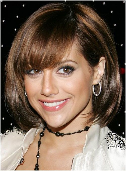 Bangs Short Hairstyle For Girls