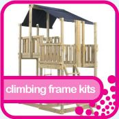 Wooden Climbing Frames UK & Playground Equipment UK