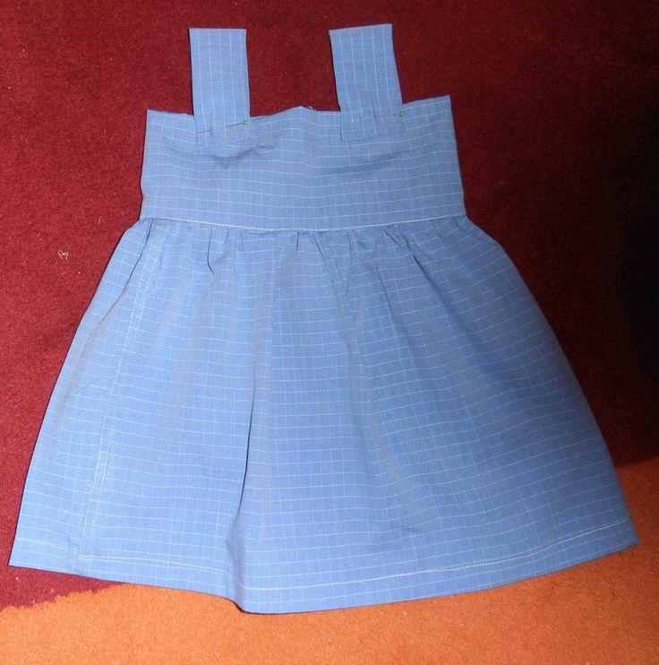 Voici un tuto super simple : robe petite fille pour débutantes adaptable, et déclinable (petit cours de couture débutante inclus)