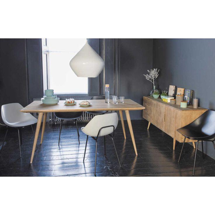 maisons du monde table amazing table basse roulettes indus colorado maisons du monde with. Black Bedroom Furniture Sets. Home Design Ideas