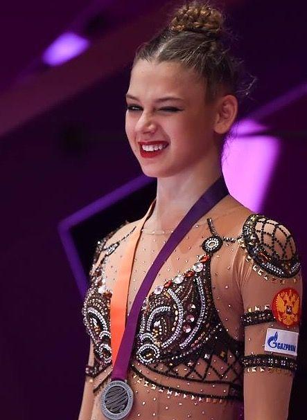 Alexandra SOLDATOVA (Russia) ~ 1st @ the All-Around Final. 2nd @ EC Ribbon Silver @ EC Budapest-Hungary 21/05/2017
