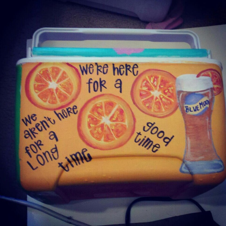 Ideas of what to paint on my cooler! Hunter!