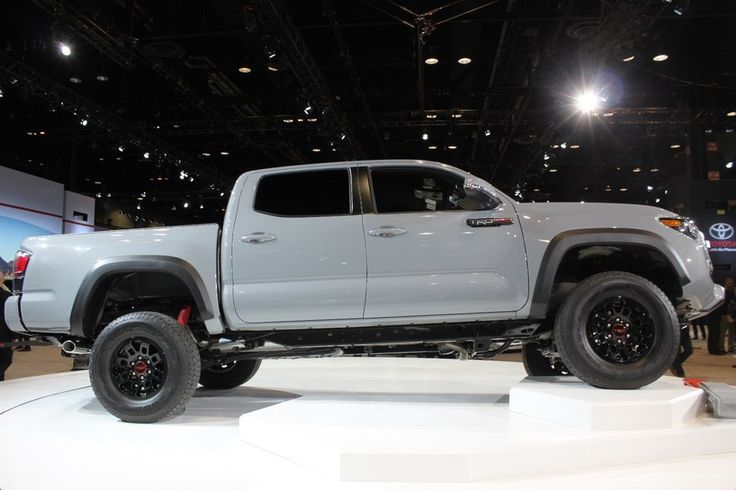 Toyota's big debut at the 2016 Chicago Auto Show was the new Tacoma TRD Pro line, with their beefy offroad gadgetry
