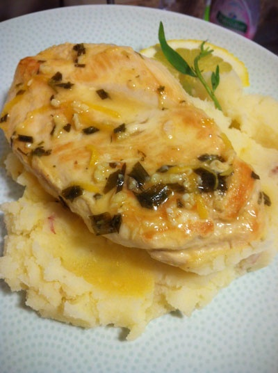 Seriously Yum: Tarragon and lemon chicken