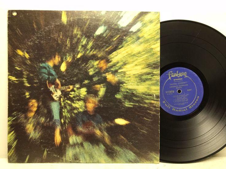Creedence Clearwater Revival - Bayou Country Fantasy 8387 LP Vinyl Record Album stores.ebay.com/capcollectibles