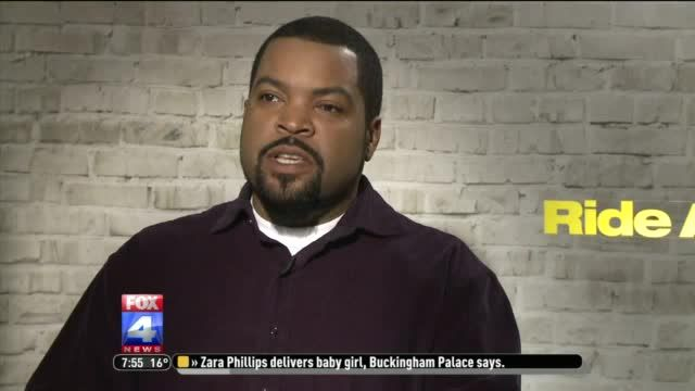 """Ice Cube and Kevin Hart chat about their new movie """"Ride Along"""""""