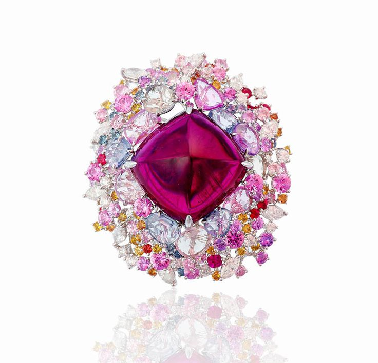 Rosamaria G Frangini | My PINK Jewellery | Anna Hu Haute Joaillerie by VoyageVisuelle