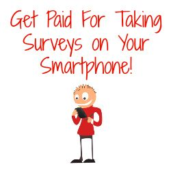 Get Paid For Surveys On Your Smartphone! Here's a list of several different survey panel apps you can download.