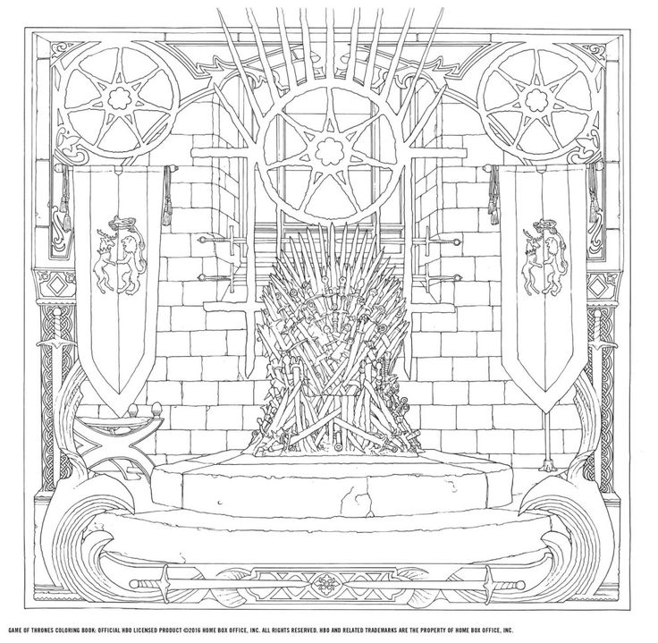 The New Game Of Thrones Coloring Book