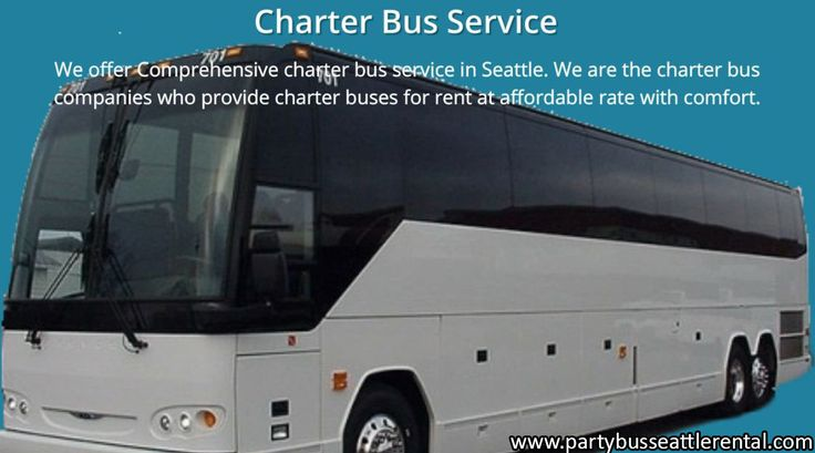 We offer Comprehensive charter bus service in Seattle. We are the charter bus companies who provide charter buses for rent at affordable rate with comfort.