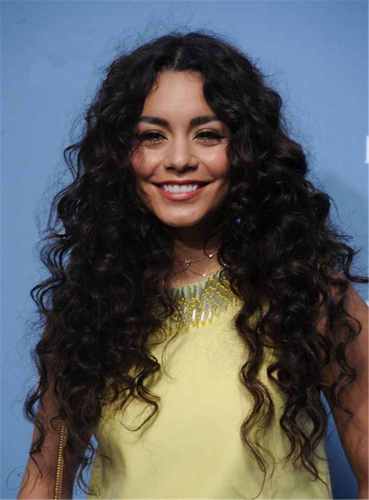 middle part hair styles hudgens curly center part 2314
